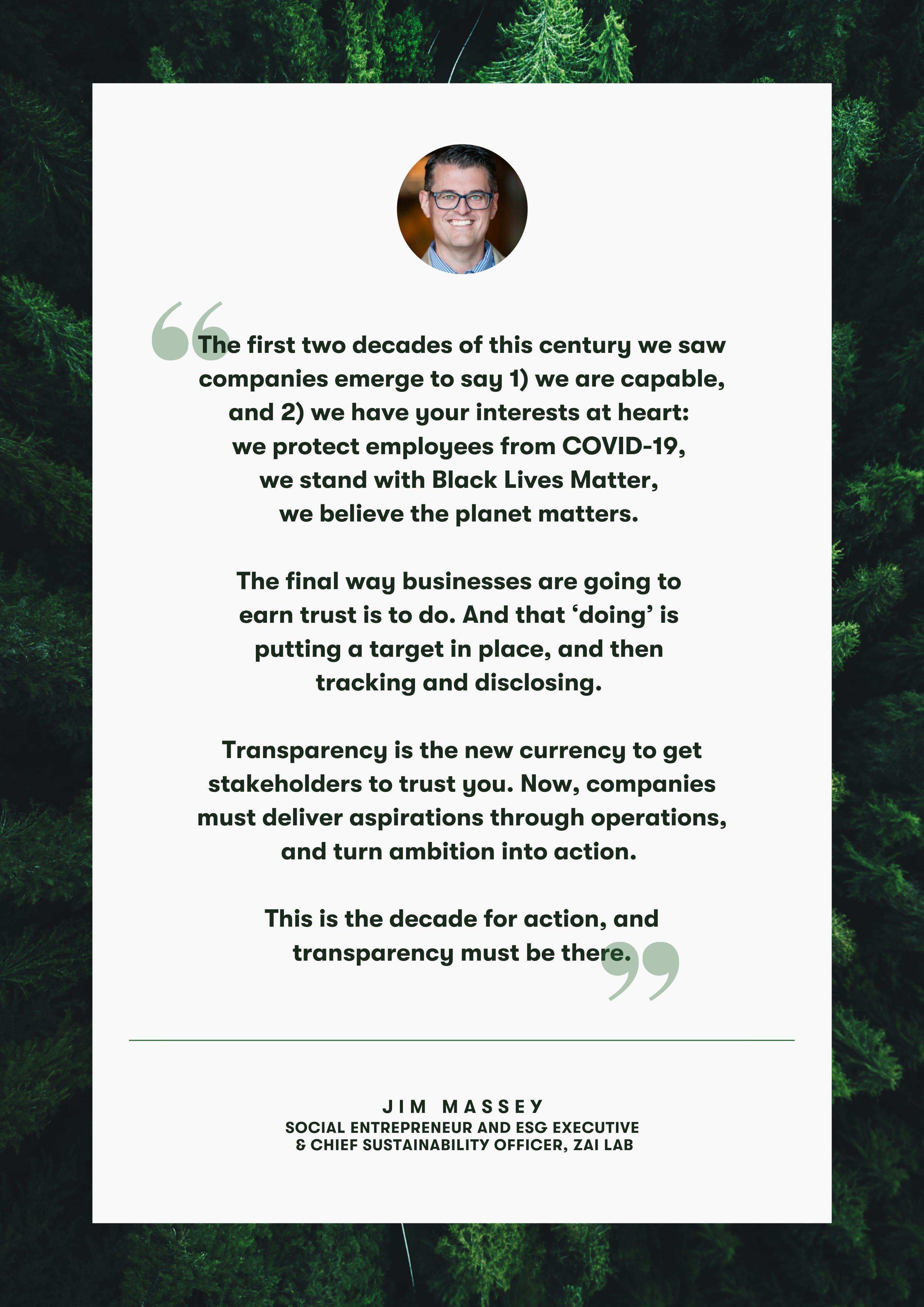 Jim Massey Quote